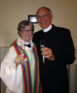 Toasting marriage equality with Dick Little